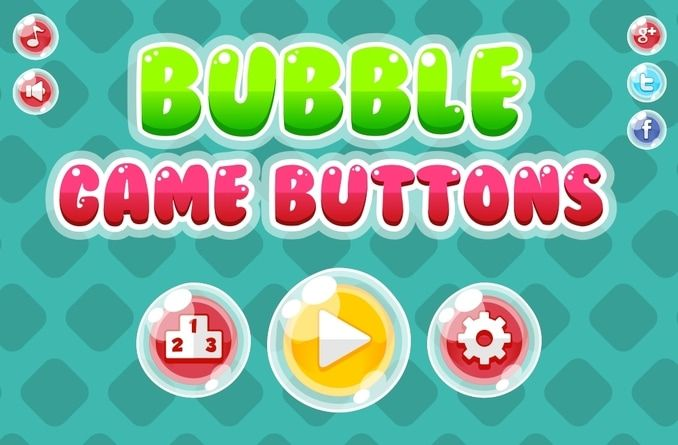 free bubble game button casual | Free Sprites in 2019