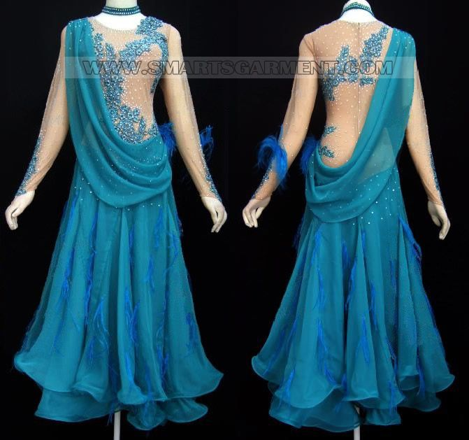 customized ballroom dancing apparels,plus size ballroom ...