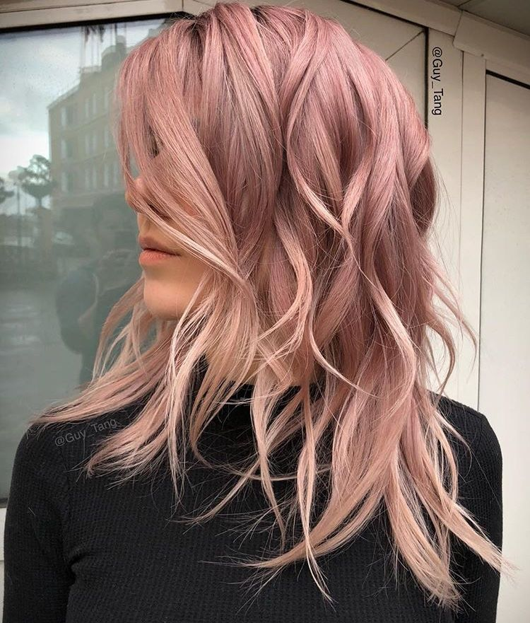 Guy Tang Beautiful Colour Rose Gold Blush Pink Dream Guy Tang Pastel Pink Hair Rose Gold Hair Shades Hair Shades