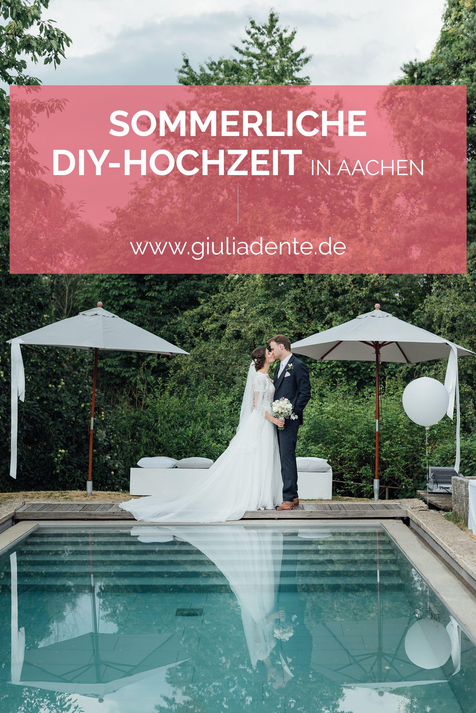 Sommerliche Diy Hochzeit In Aachen Diy Hochzeit Hochzeit Sommerhochzeit