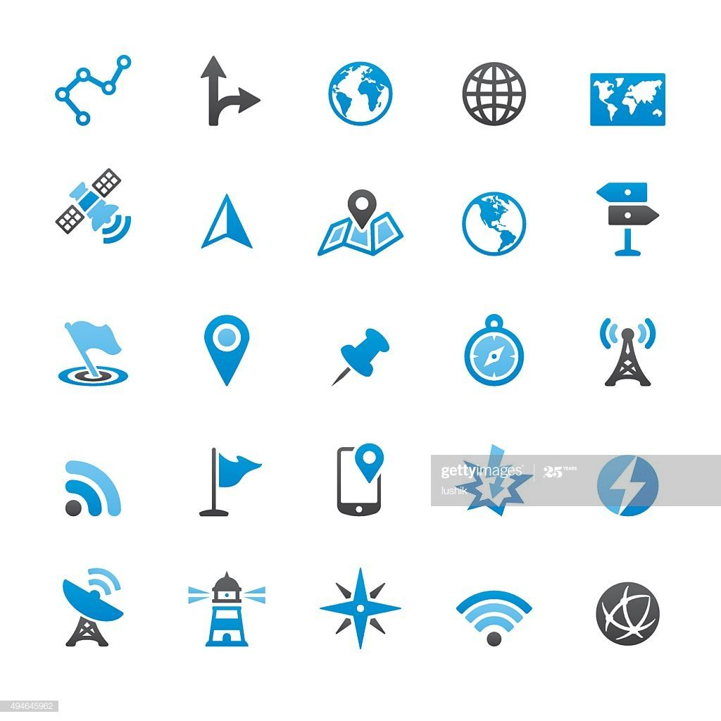 Navigation Technology And Maps Related Vector Icons Illustration #Ad, , #AFF, #Maps, #Technology, #Navigation, #Related