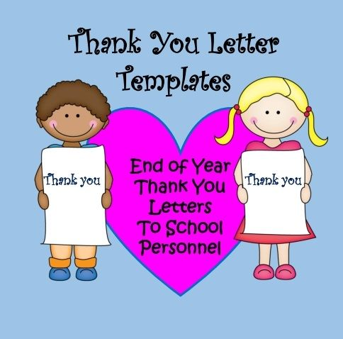 Friendly Letter Writing  Thank You Letters To School Staff
