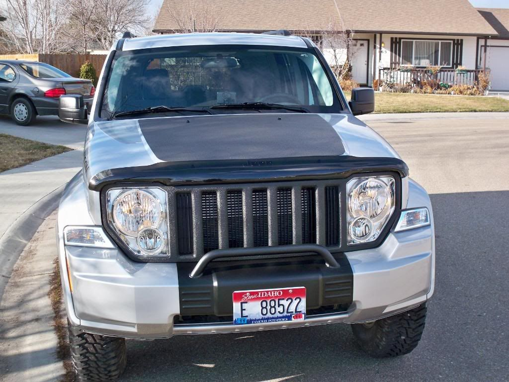 Jeep Liberty 2008 Mods
