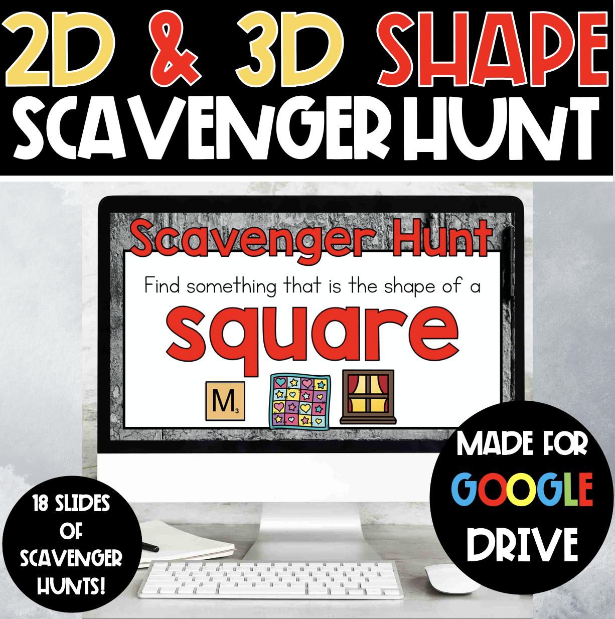 Shape Scavenger Hunt In