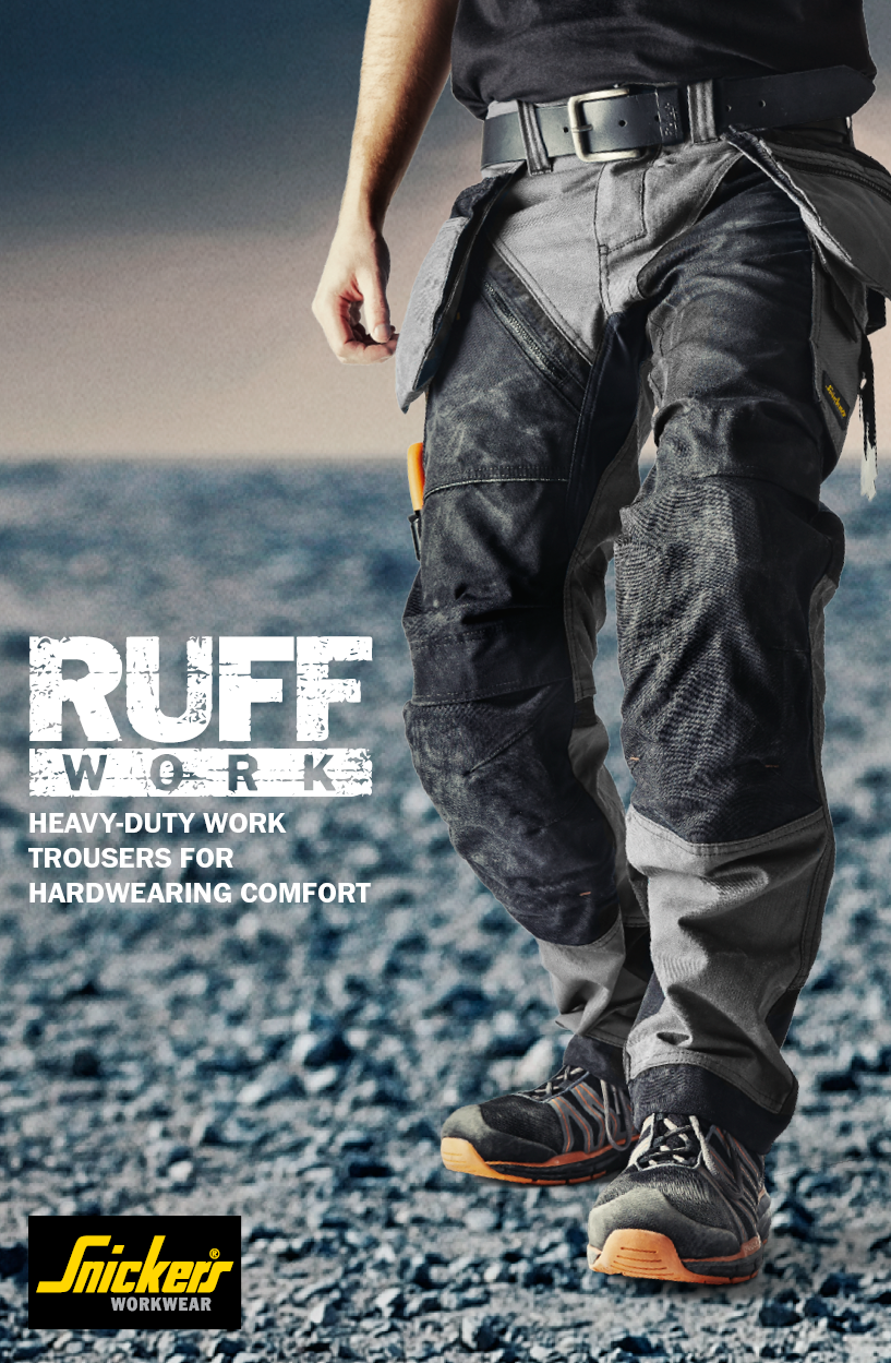 eb541480eac We would like to introduct the RuffWork work trousers to you as a part of  our #newgenerationtrousers