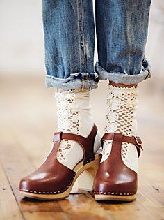 Cindy Clog Ok, these are the cutest shoes ever. I love them with the socks and…