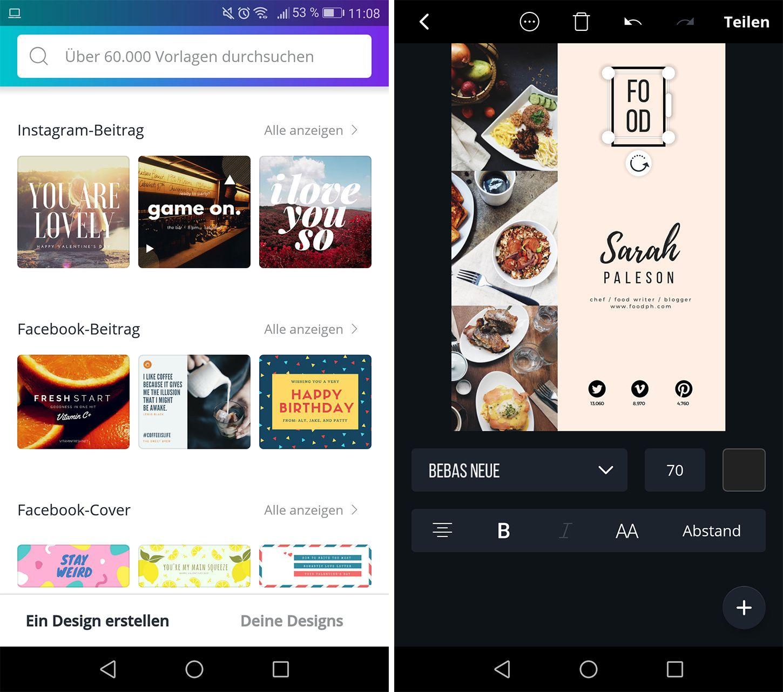 App Einladungskarten Gestalten Android