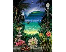 Rick Rietveld - Midnight Light #surfart #surfculture #art #surf