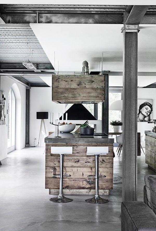 Un casale dall\'animo industriale in Toscana | Idee per la casa ...