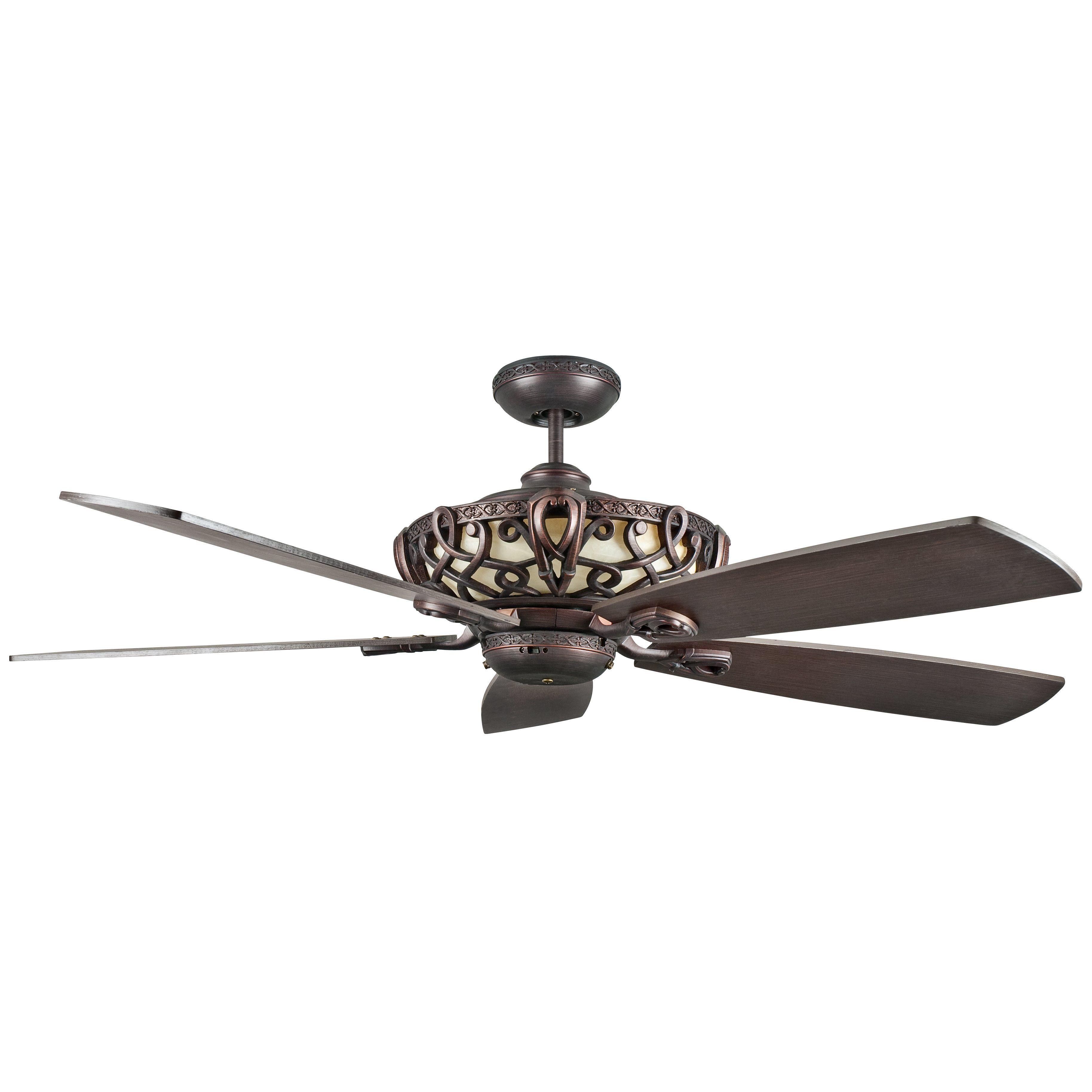 """60"""" Dunaghy 5 Blade Ceiling Fan"""