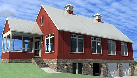 House plans barn style