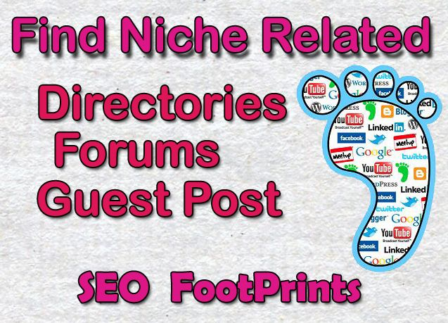 SEO Footprints list For High PR Backlinks | Mushiiiweb | Seo
