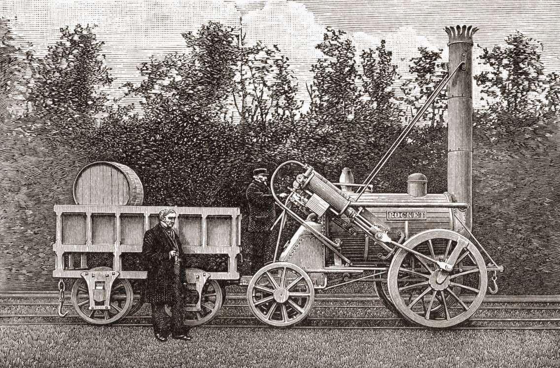 La máquina de vapor La primera máquina de vapor la patentó ...