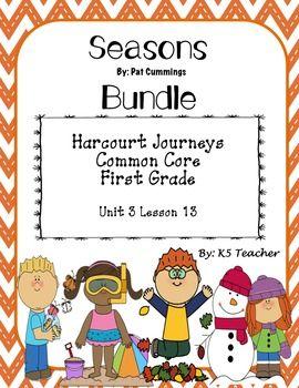 Seasons houghton mifflin harcourt common cores and homework activities fandeluxe Images