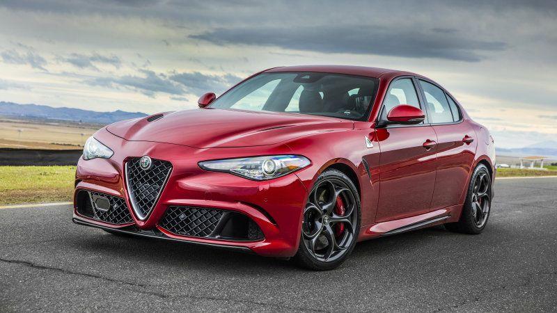 2019 Alfa Romeo Giulia Quadrifoglio Review Power Handling And Price Alfa Romeo Giulia Quadrifoglio Alfa Romeo Giulia Alfa Romeo