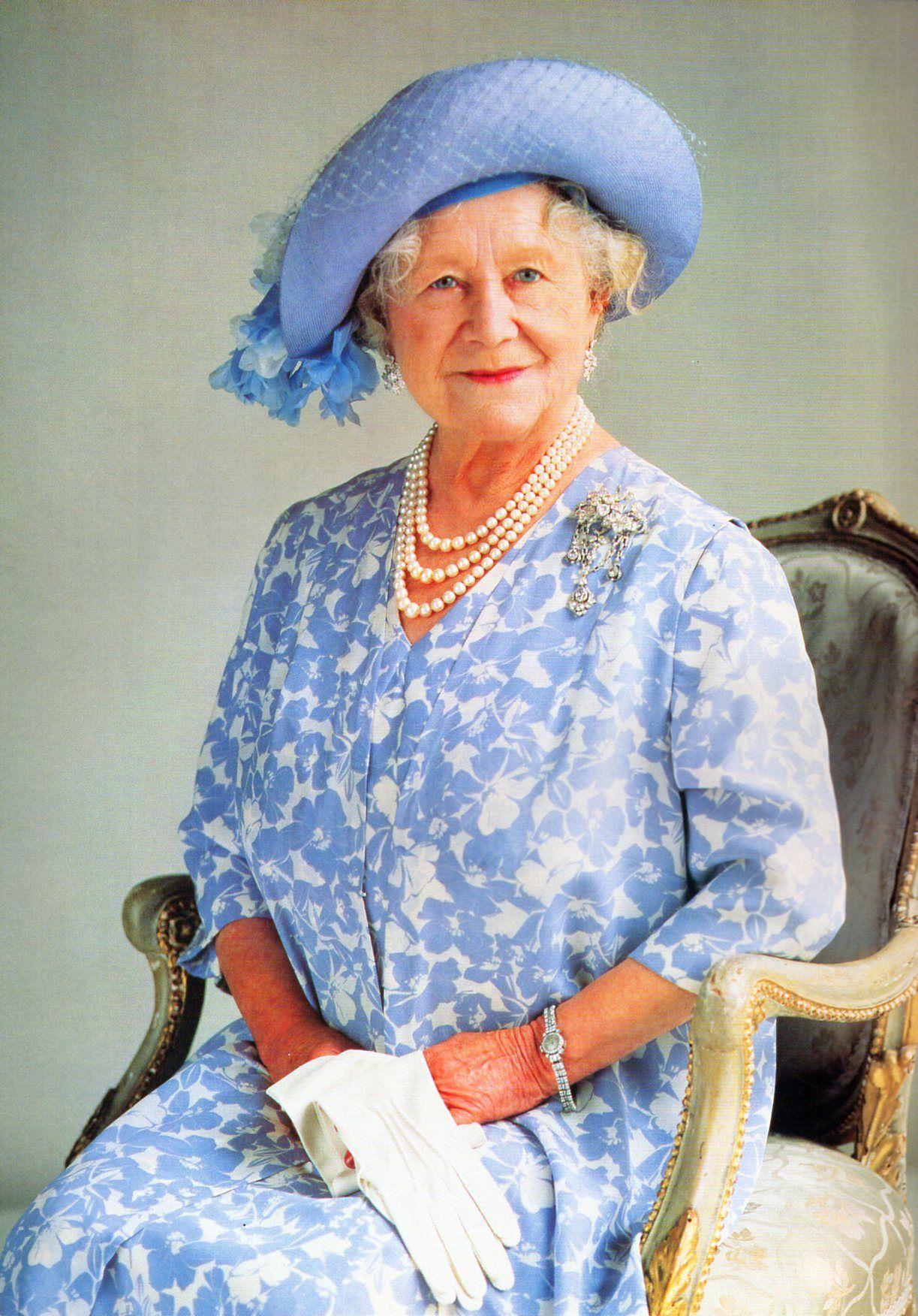 Elisabeth, the Queen mother, 1990 Queen mother, Queen