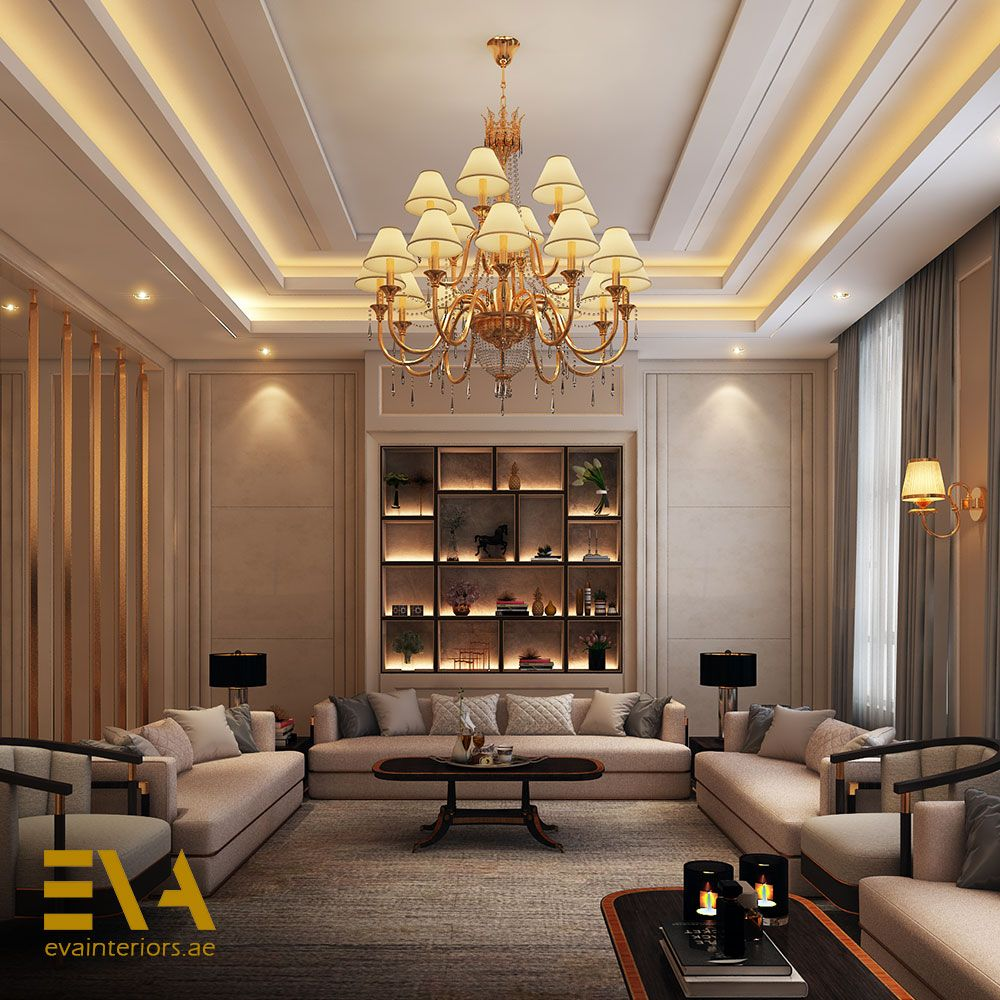This Sitting Room Is Designed For Conversation A Formal Yet Relaxed Space That Creates A Sense Of Occasion غرفة الجلوس هذه House Interior Home Decor Design