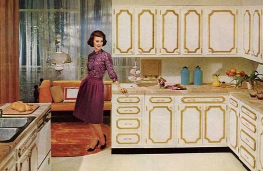 1963 1960sretrohomedecor Retro Home Decor Retro Home Vintage Interiors
