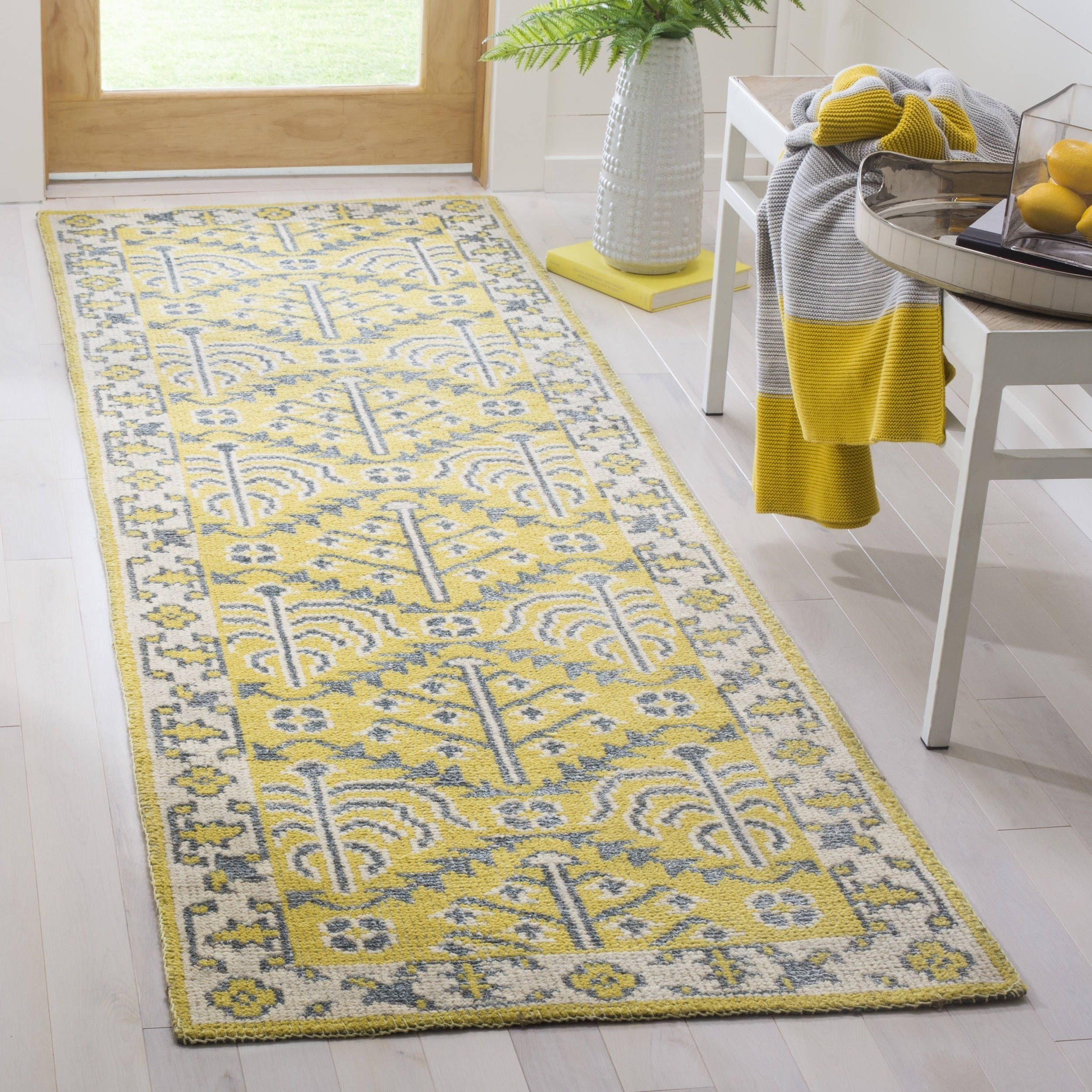 Safavieh Hand Knotted Stone Wash Clothilde Modern Wool Rug Rugs