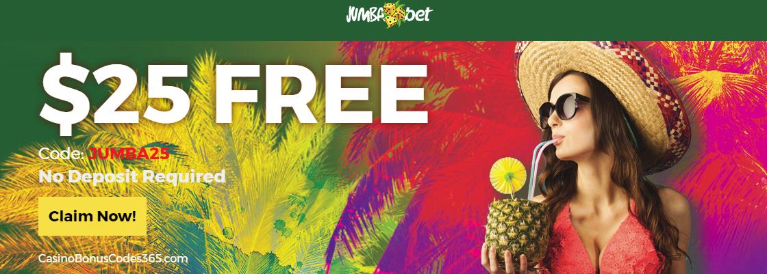 Jumba Bet $25 No Deposit FREE Chips