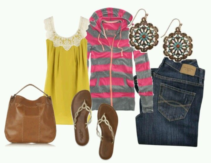 Spring is just around the corner try out bold colors and stripes