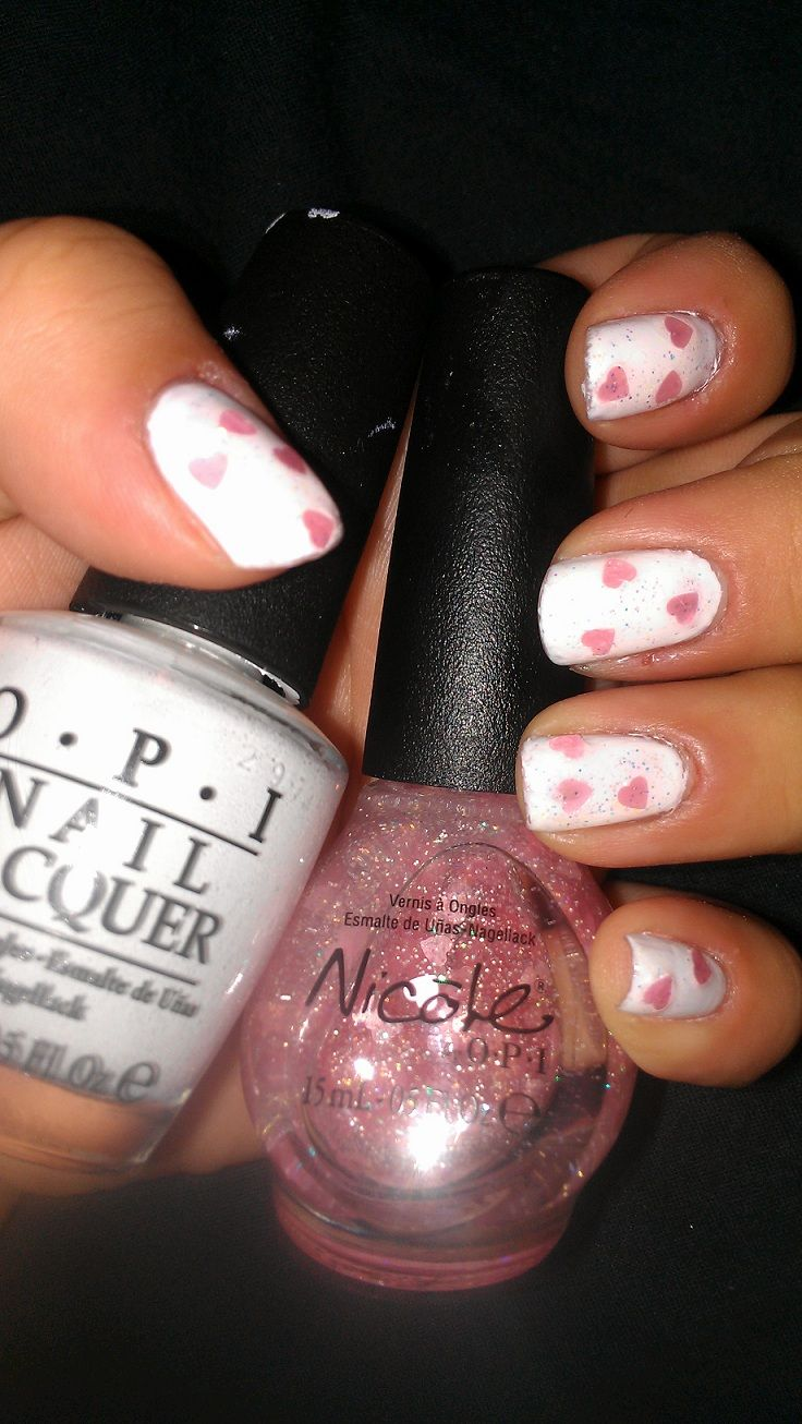 3 (OPI: Alpine Snow & Nicole by OPI: Love your life | Nail Polish ...