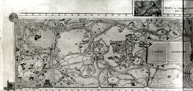 Layout Of Central Park By Frederick Law Olmstead 1857 Landscape Design Style Picturesque Characterized By Wi Landscape Design Picturesque Architecture Plan