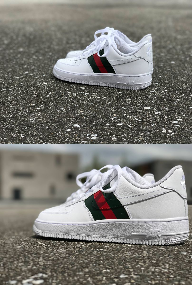 official photos 1f580 d9b2b Nike Air Force 1 Gucci custom by fawl