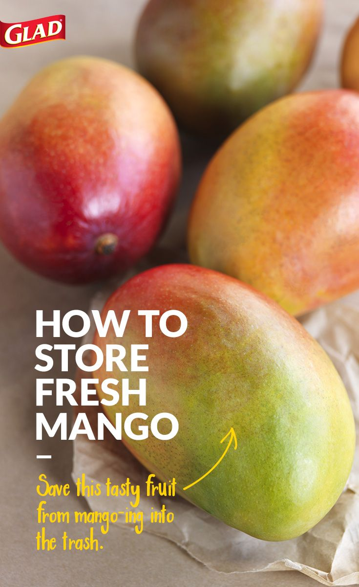 Here are some tips on how to store your mango so it stays