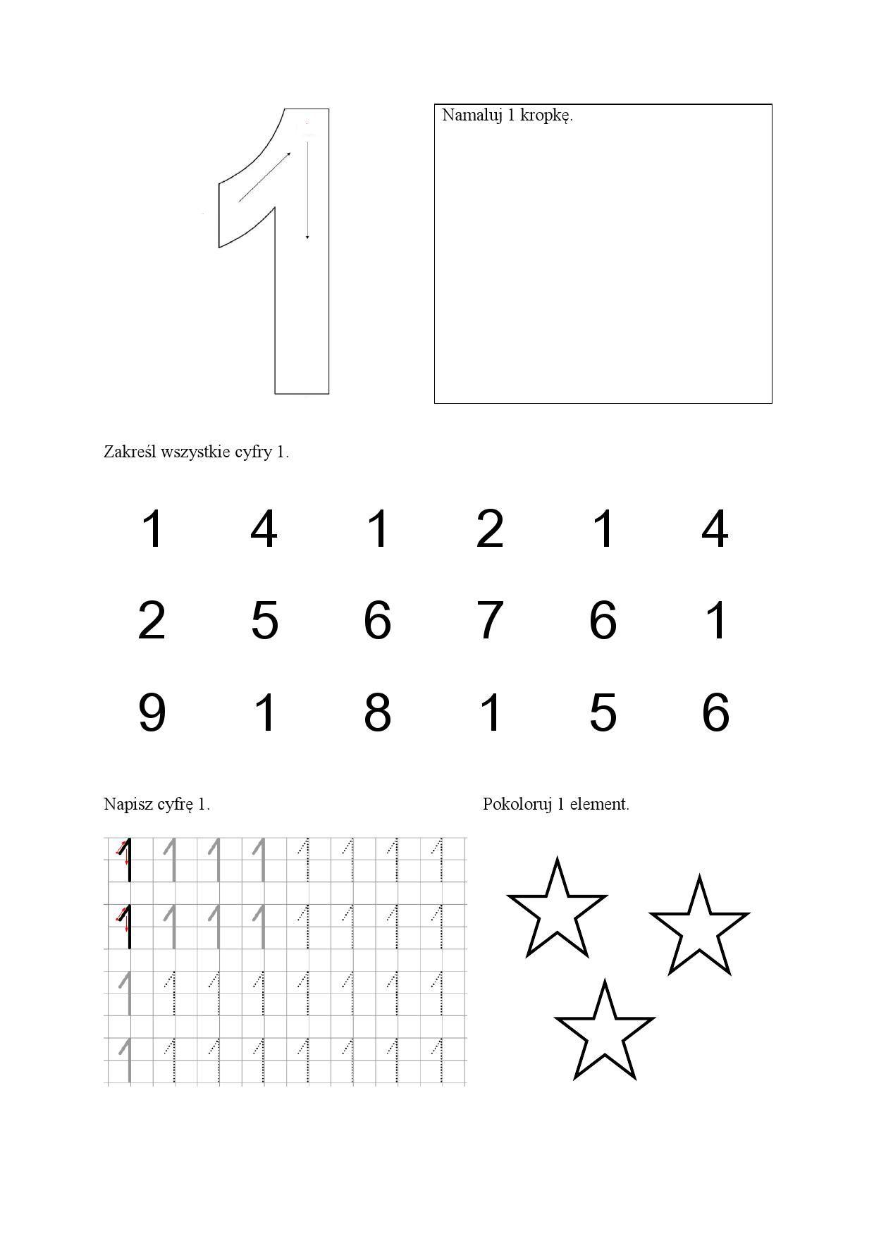 Matematyczne Karty Pracy Do Wykorzystania W Przedszkolu I Szkole Podstawowej Do Pobrania I Drukowania Za Darmo Pre Writing Preschool Worksheets Writing