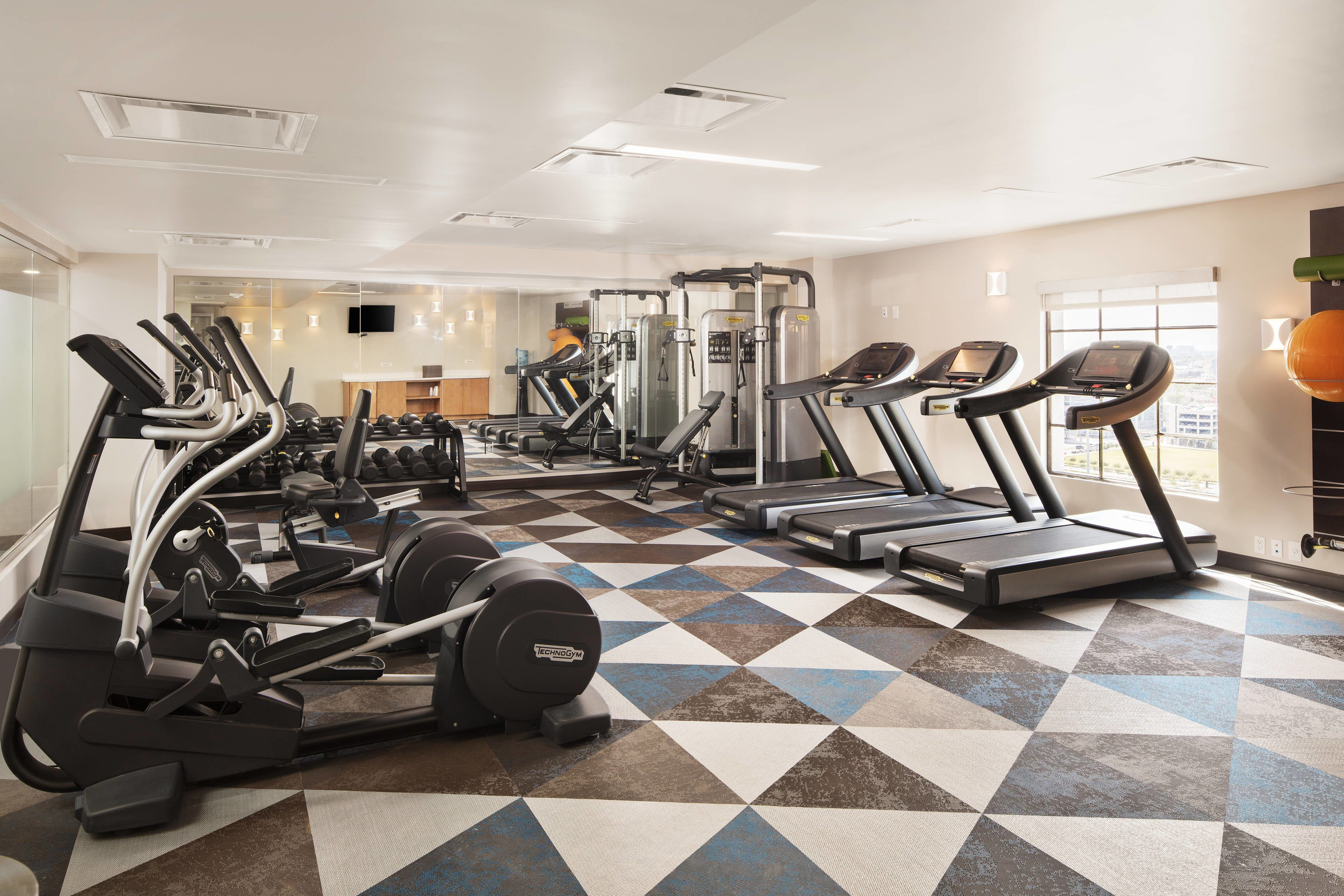 Springhill Suites New Orleans Downtown Canal Street Fitness Center Comfortable Beautiful Travel Suites Hotel Springhill