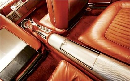 1963 Chrysler Turbine Console