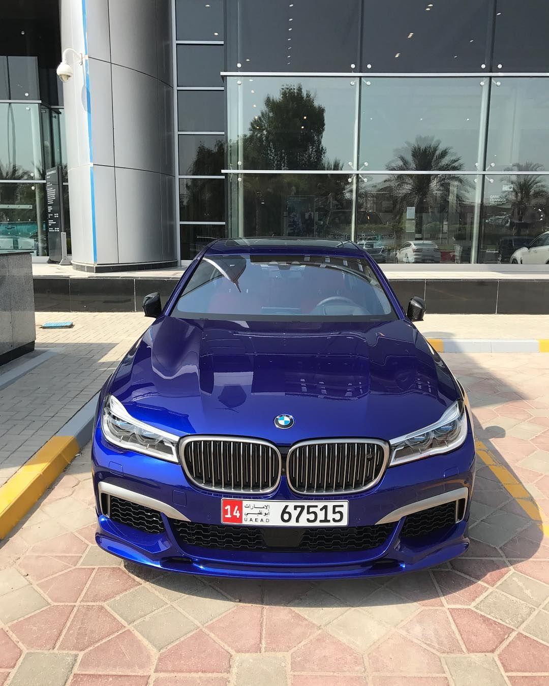 Rami Nasri Bmw Mini Rr Abudhabi Bmw On Instagram Bmw 760li M Sport Full Individual San Marino Blue Inside Red V12 6 6 Li Bi Turbo 6 Bmw Bmw Car Turbo