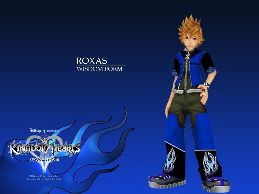 Kingdom Hearts Roxas Wallpaper