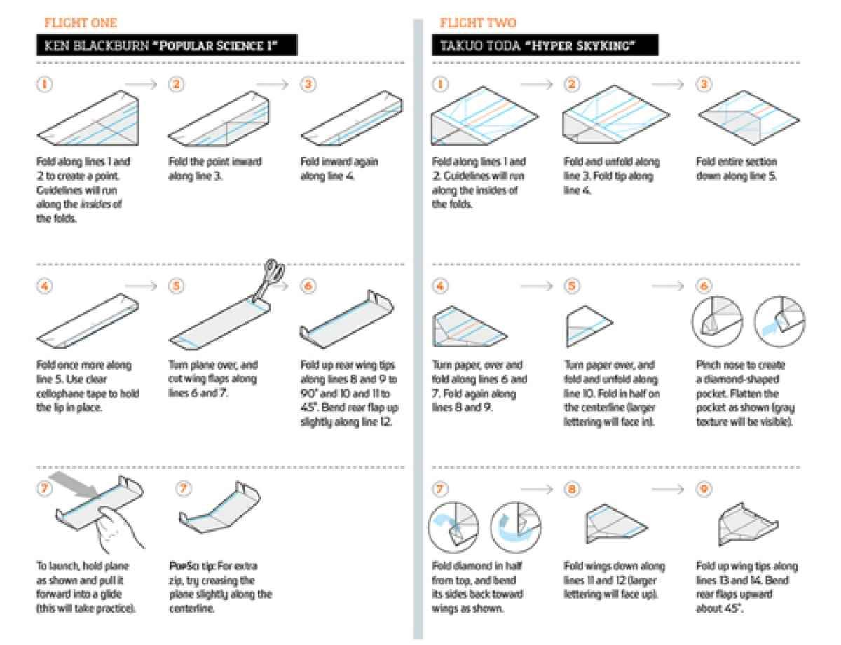 Video How To Fold The Longest Flying Paper Airplanes