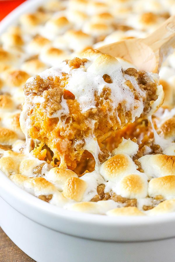 Loaded Sweet Potato Casserole