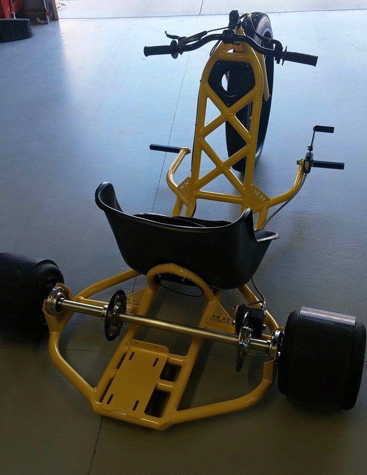 HR Drift Trike   Things to build   Pinterest   Drift trike, Big ...
