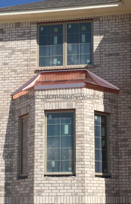 Custom Copper Bay Window Roof Bay Window House Styles Roof