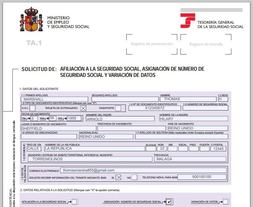 By following these simple, step by step instructions you will be - social security application form