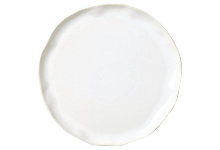 Love the perfectly imperfect, hand-thrown edges of this Vietri dinner plate.