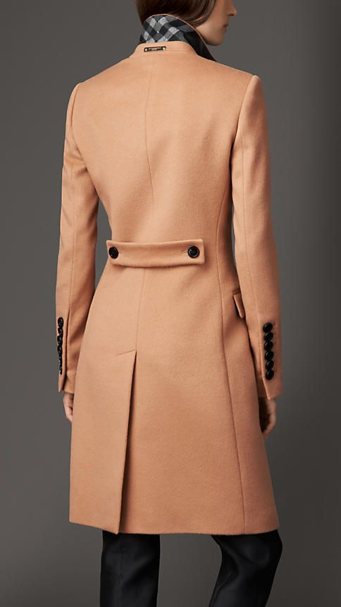 Burberry London Wool Cashmere Coat