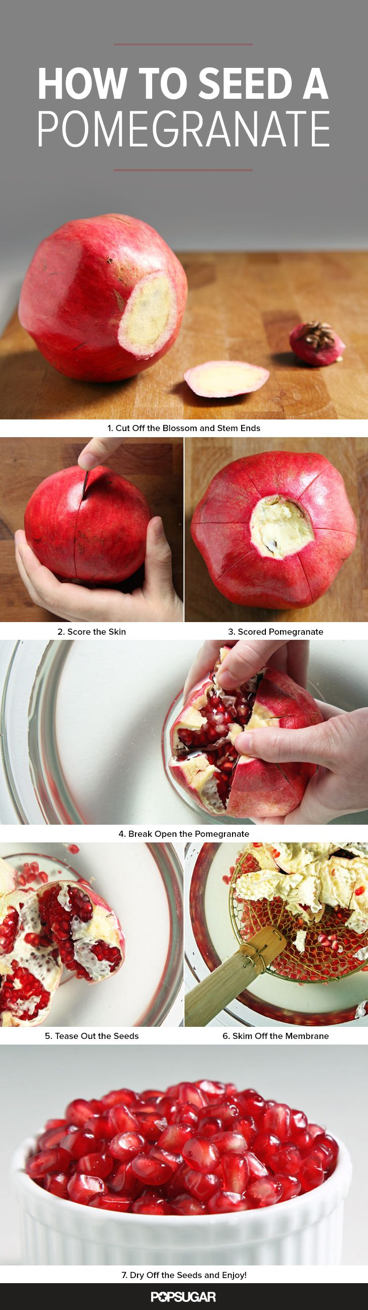 How to Seed a Pomegranate Without Making a Huge Mess