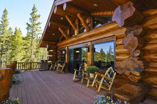 Rocky Mountain Loghome Log Homes Natural Homes Little Log Cabin