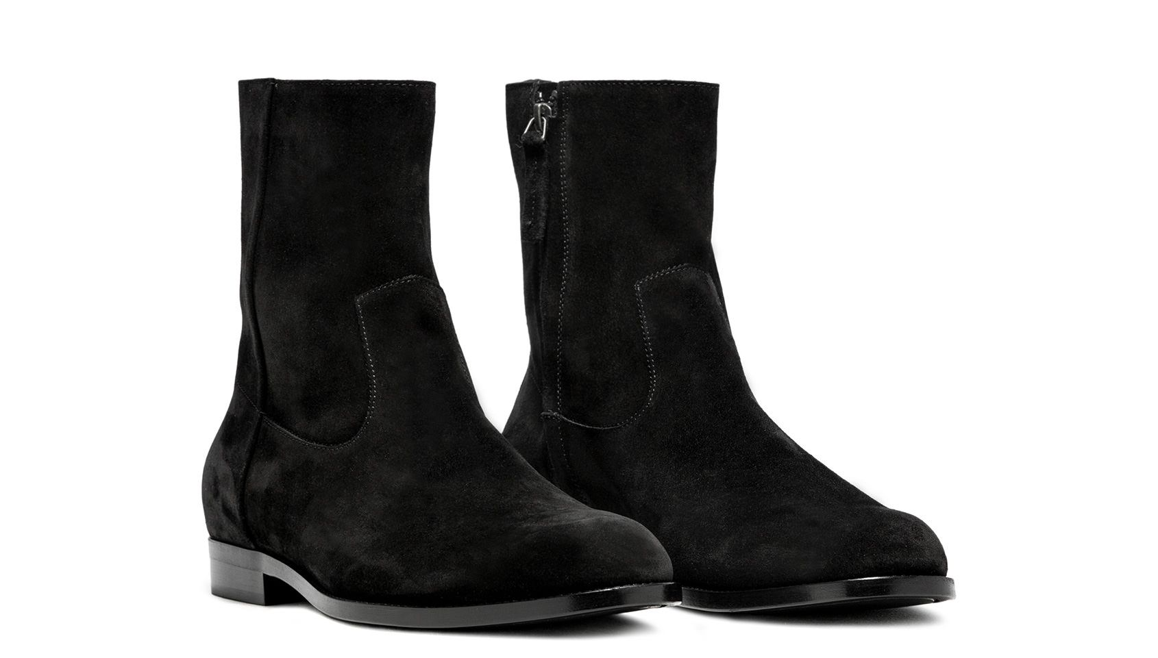 Buttero Black Suede Floyd Ankle Boots B8060gorh Uc1 01 Nero Boots Fall Shoes Boots And Sneakers