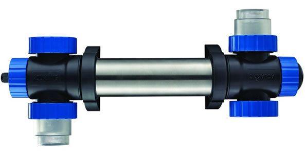 Clarificador de agua aquaking uvc rvs 40 inoxidable y for Estanque de agua 10000 litros precio