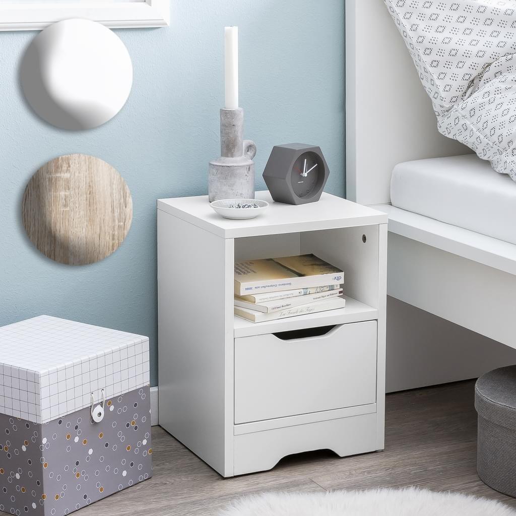 Design Moderne Nachtkonsole Schlicht Designednachtkastchen Mit