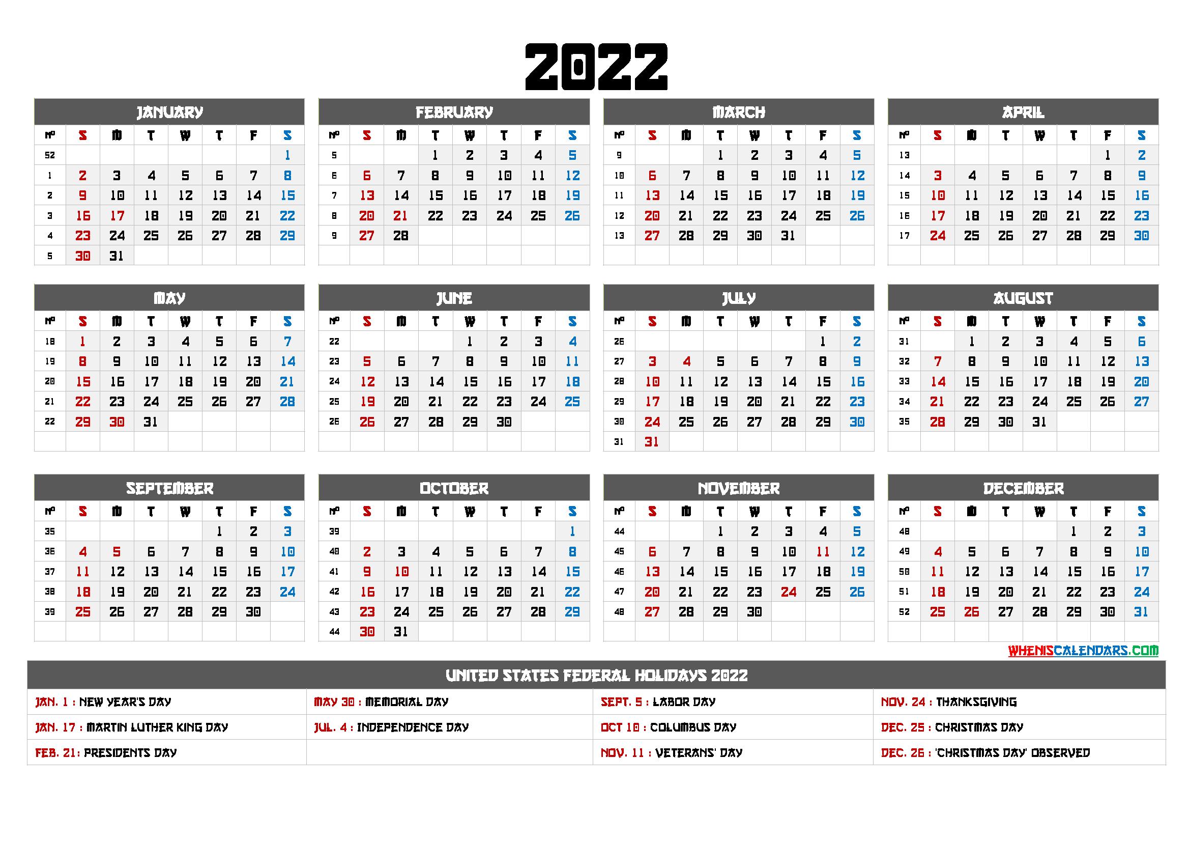 20+ 2022 Calendar Uk - Free Download Printable Calendar ...