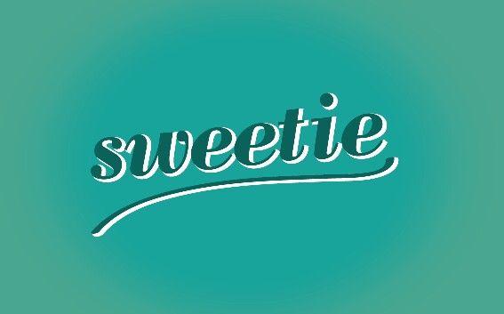 Sweetie lettering