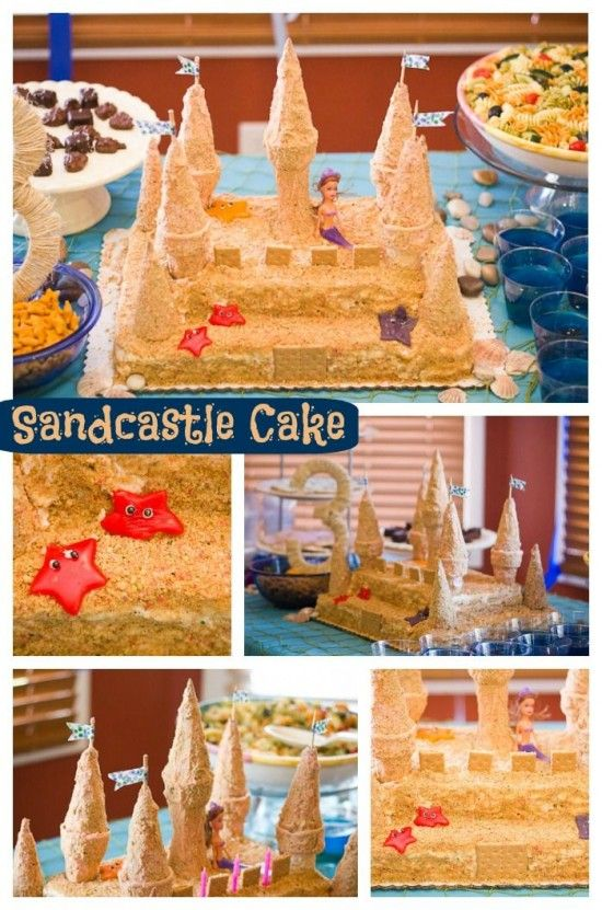 How To Make A Sandcastle Cake Tutorial The Whoot