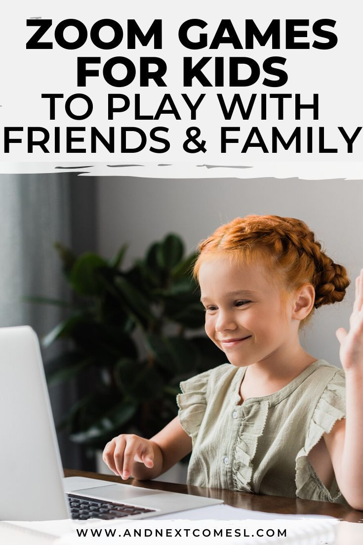 Fun games to play with kids on zoom video chat in 2020